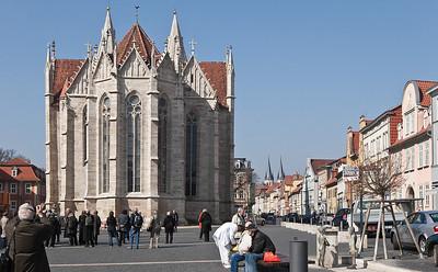 Mühlhausen, Blasiuskirche, Blick auf Chor