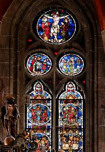 Mühlhausen, Blasiuskirche, Glasmalerei (1340)