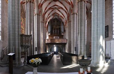 Mühlhausen, Blasiuskirche, Blick vom Chor