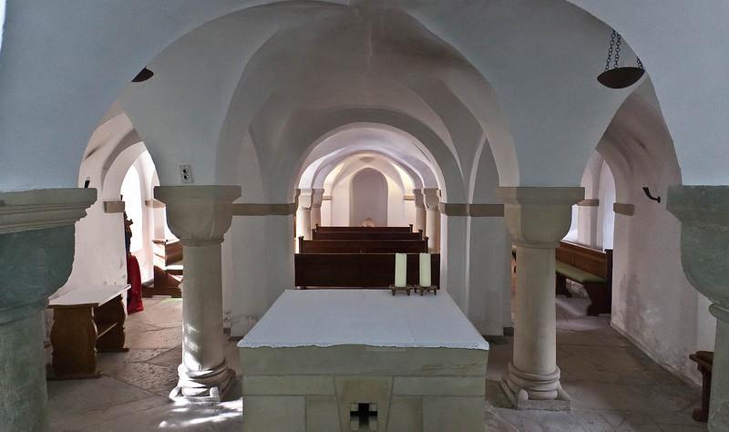 Freckenhorst, ehem. Stiftskirche, Krypta