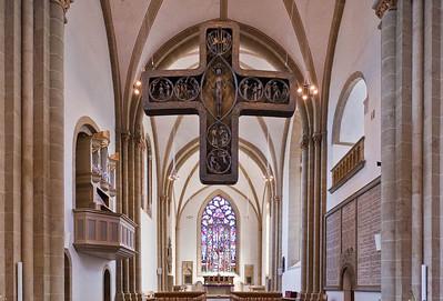 Herford, Münsterkirche, Blick in Chor