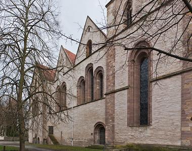 Herford, Münsterkirche, Südfassadel