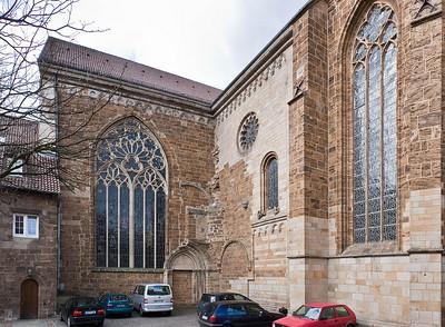 Minden, Dom, Ecke zw. Chor und Südquerhaus