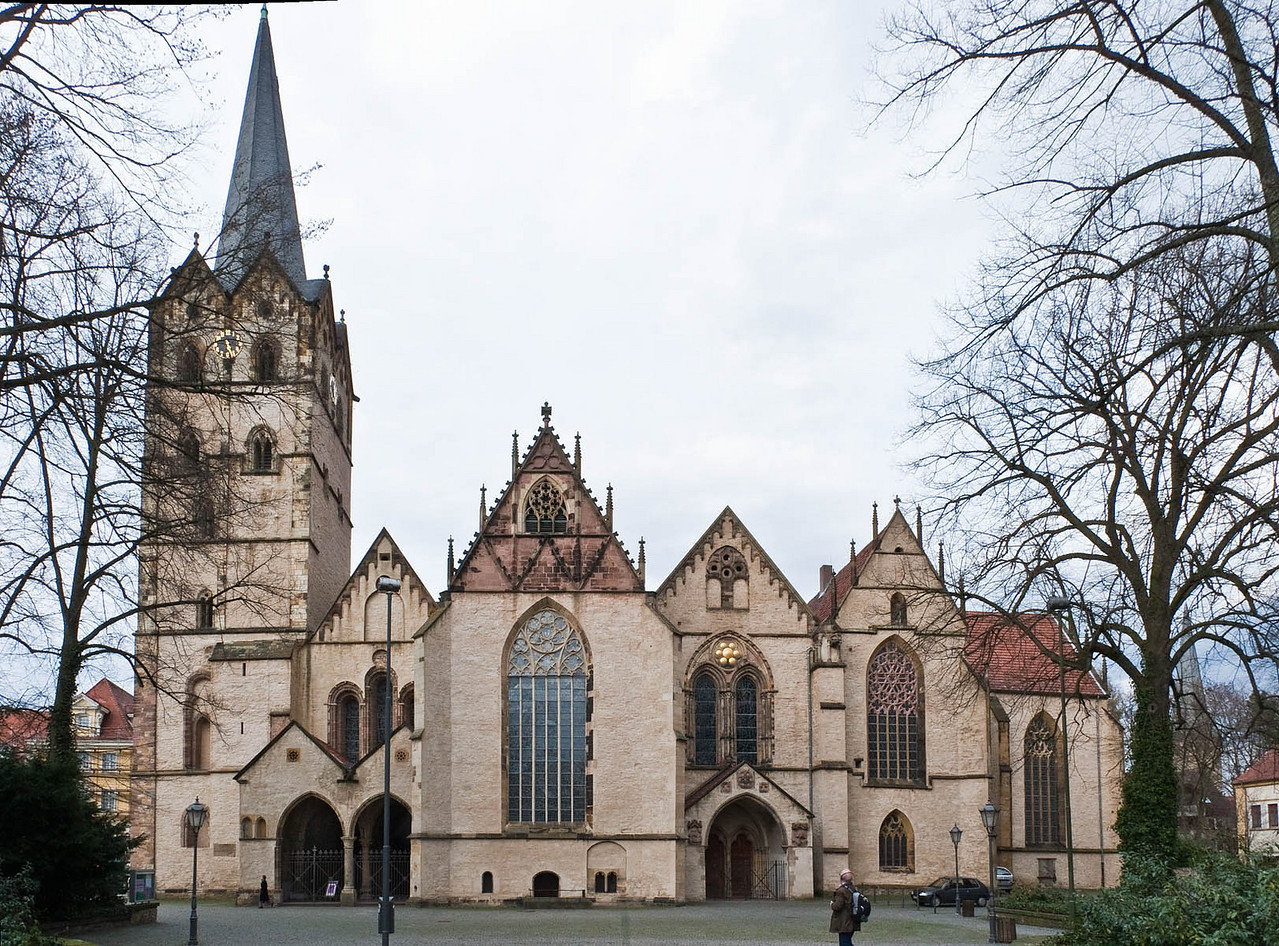 Herford, Münsterkirche, Südfassade