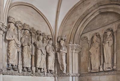 Münster, Dom, Paradiesvorhalle, Fries von Nordwesten