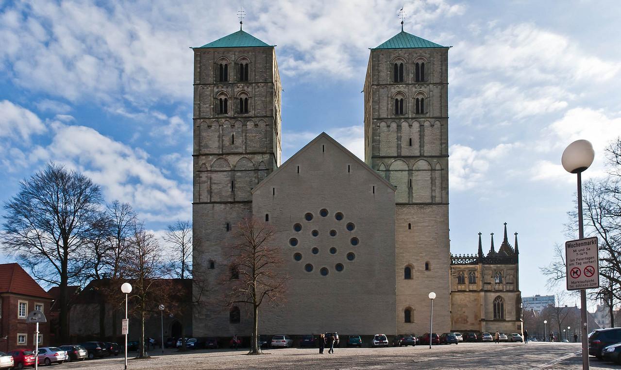 Münster, Dom Westfassade, heute