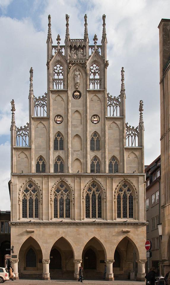 Münster, Rathaus, Marktgiebel