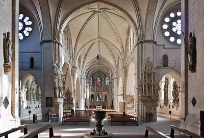 Münster, Dom, Längsschiff, Blick nach Osten