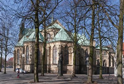 Münster, Dom, Chor von Osten