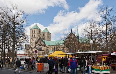 Münster, Dom von  Süden