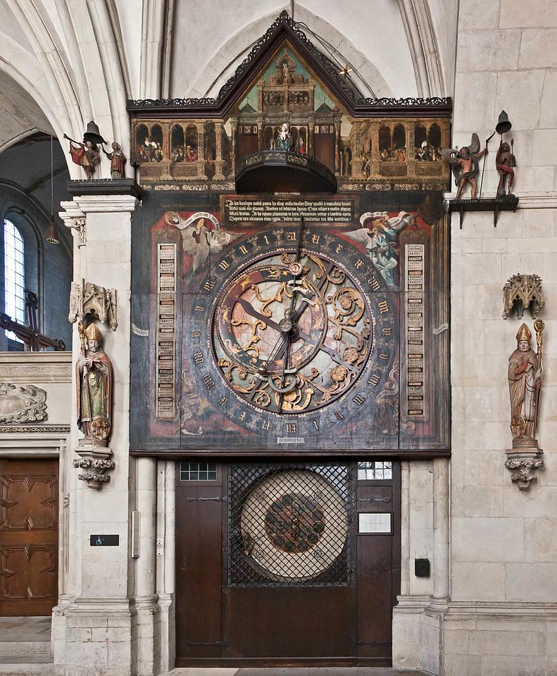 Münster, Dom, astronomische Uhr