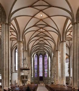 Münster, Lambertikirche, Blick auf Chor