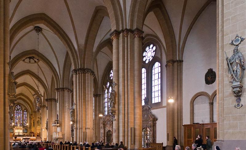 Paderborn, Dom, Blick nach Süddosten