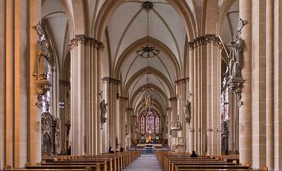 Paderborn, Dom, Blick nach Osten