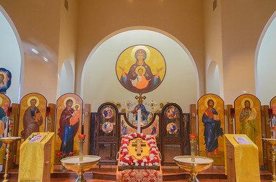 Archdiocese Liturgy with Metropolitan Tikhon  St. Matthew Orthodox Church Saturday, September 16, 2017