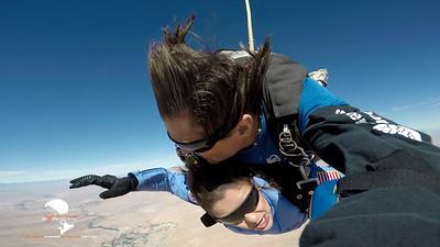 Orzala - Tandem Skydive at Skydive Fyrosity Las Vegas