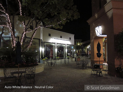 White Balance and Color Palette Nighttime Combinations
