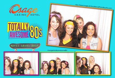 Osage Casino Totally Awesome 80's