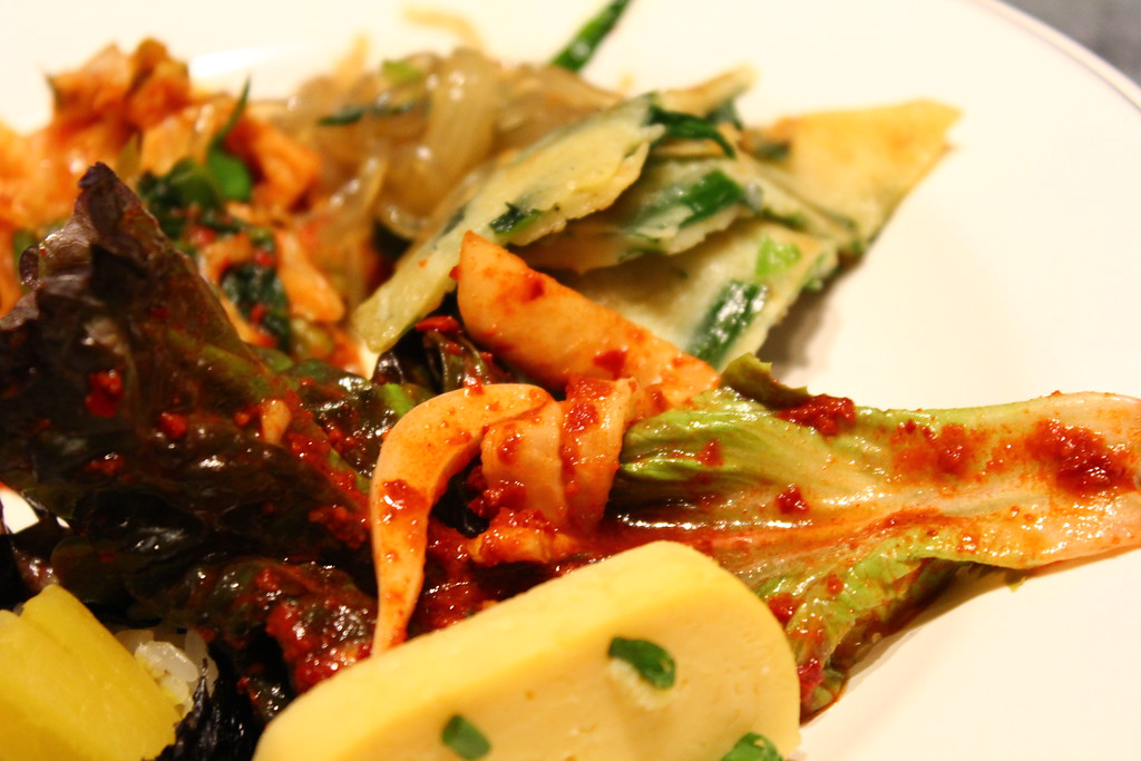 Side dishes at Minzokumura