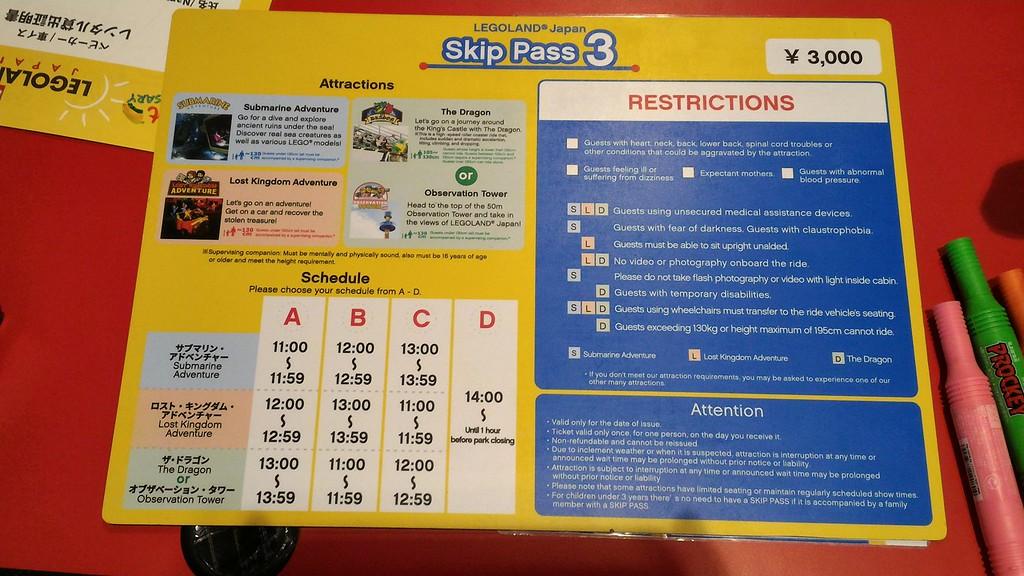 Skip Pass Info