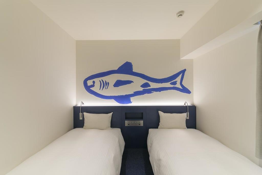 Hotel WBF Art Stay Osaka Namba