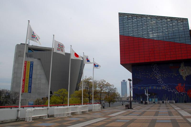 Suntory Museum Tempozan and Osaka Aquarium