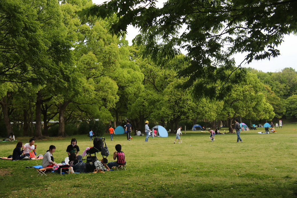 Oizumi-ryokuchi Park is a paradise for kids.