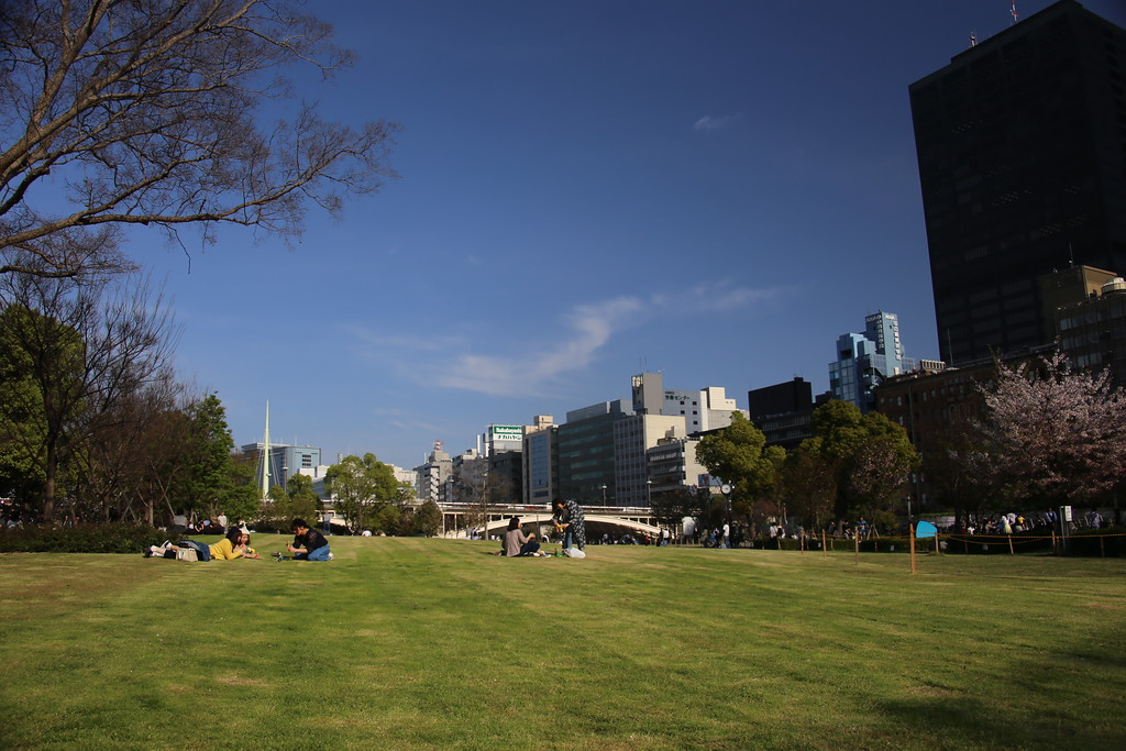 Nakanoshima-koen is Osaka's oldest park and one of its best.