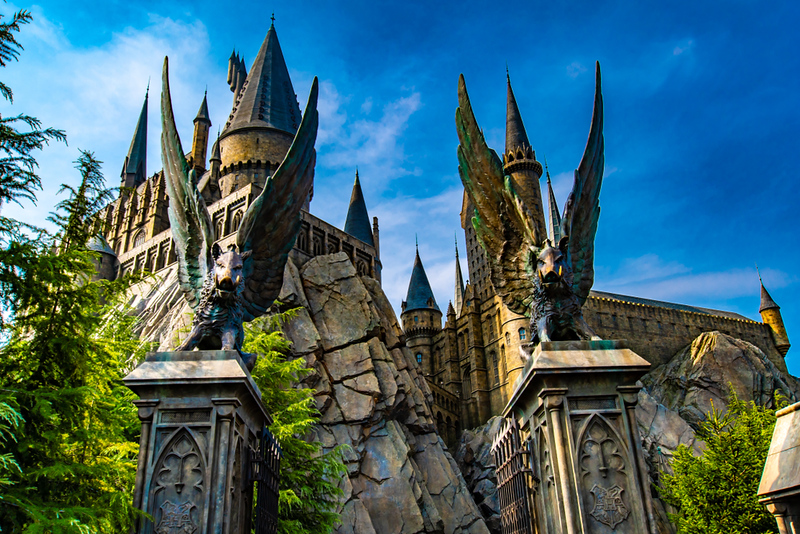Hogwarts Castle at Universal Studios Japan