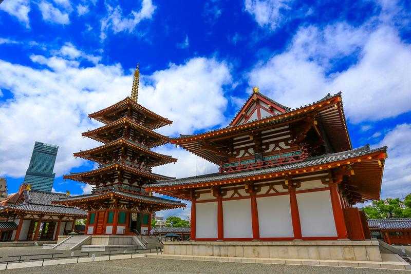 Shitteno-ji Temple