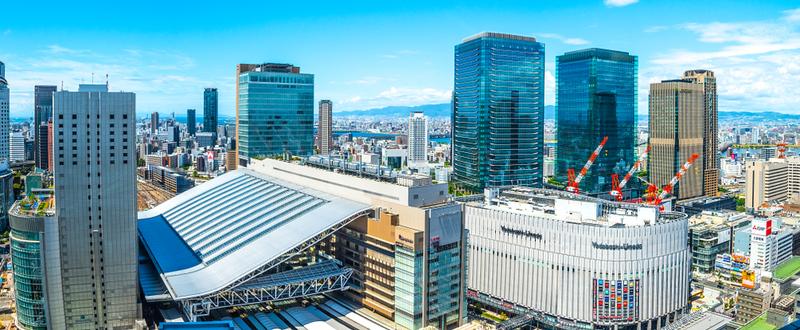 New Osaka Station building