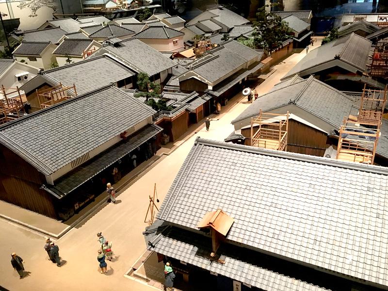 Diorama at Osaka Museum of History