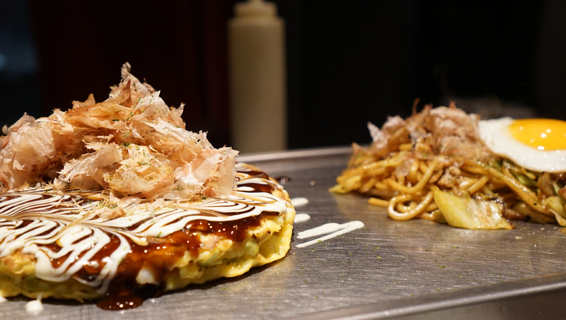 Okonomiyaki, a real Osaka treat