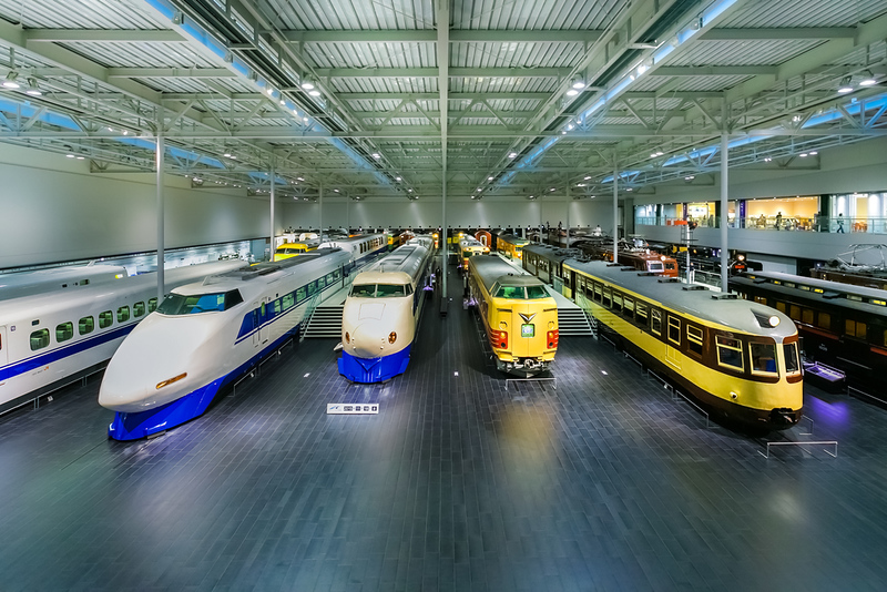 SCMAGLEV Museum and Railway Park in Nagoya