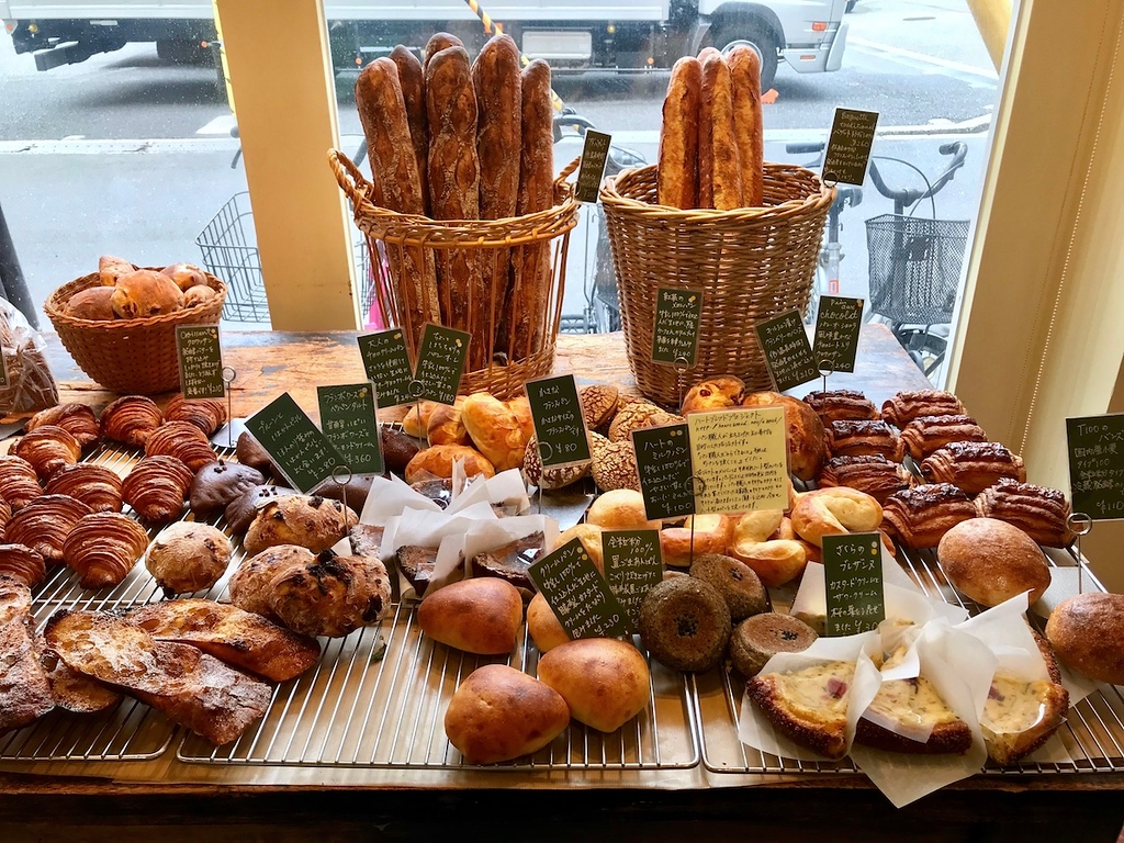 An array of breads in Painduce.