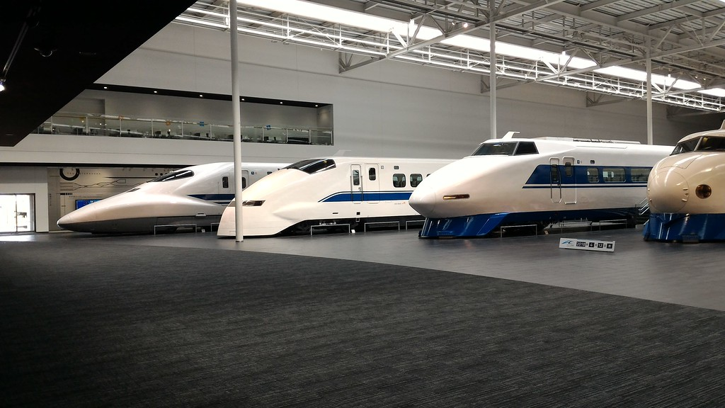 Shinkansen on Display