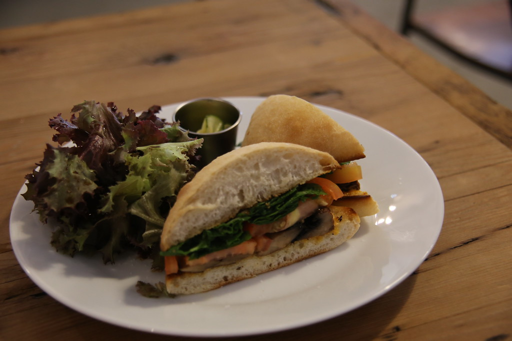 Sandwich at Morning Glass