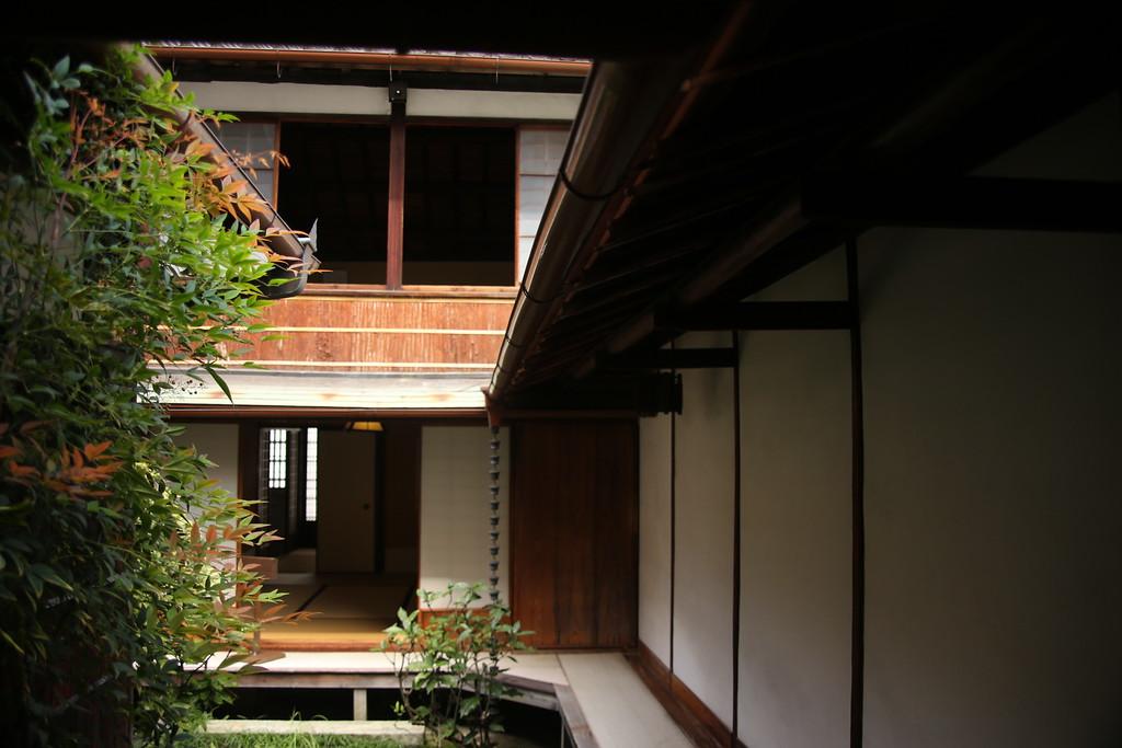 Tekijuku courtyard