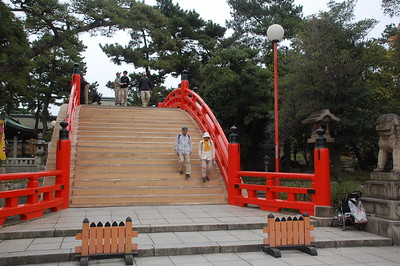 Sori-Bashi (Arched Bridge) at Sumiyoshitaisha