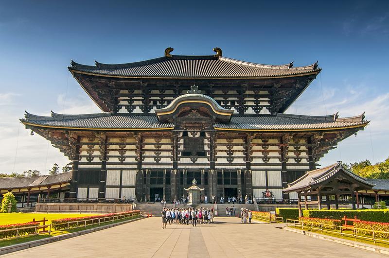 Todai-ji Temple in Nara. Editorial credit: Cezary Wojtkowski / Shutterstock.com