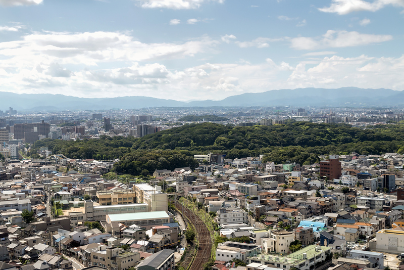 View of Nintoku Kofun. Editorial credit: Alon Adika / Shutterstock.com