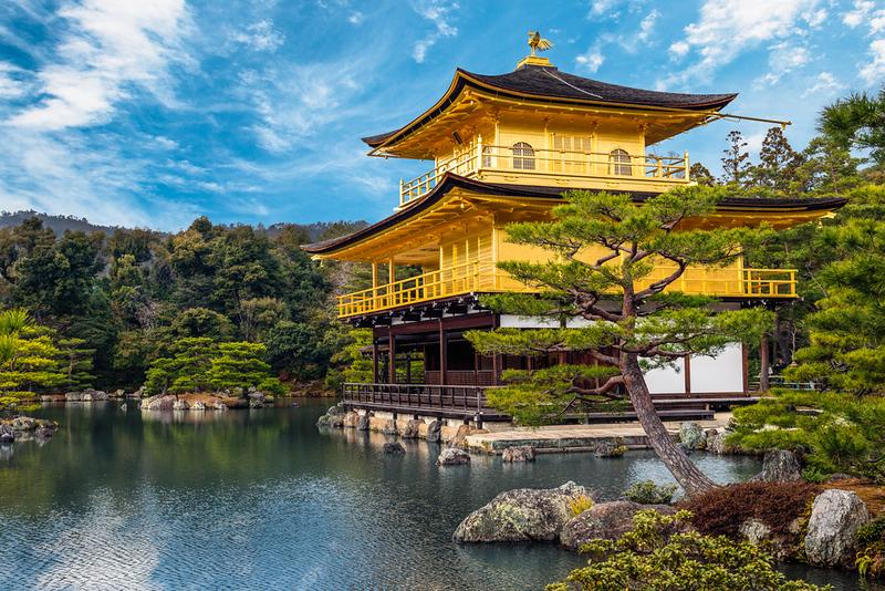 Kinkaku-ji Temple in Kyoto. Editorial credit: Joshua Davenport / Shutterstock.com