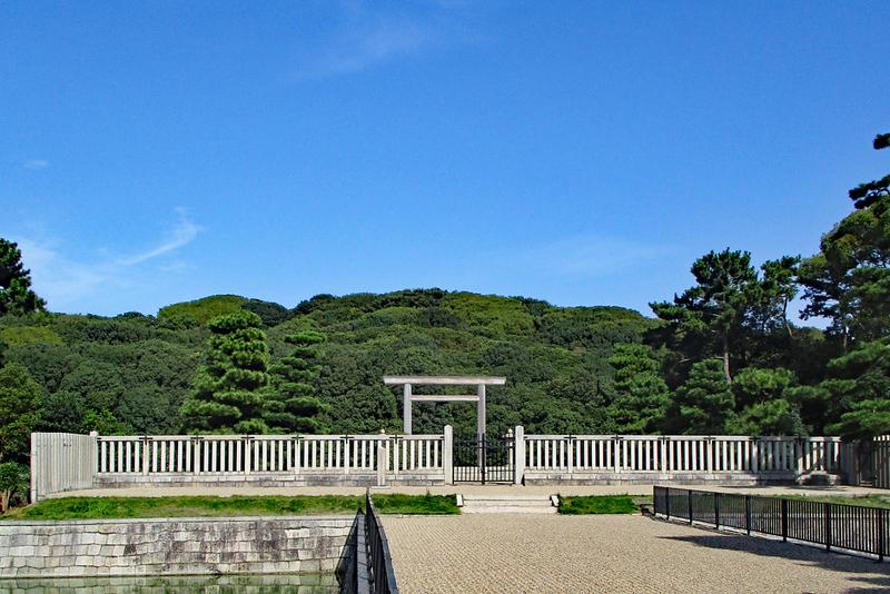 Nintoku Kofun (burial mound). Editorial credit: Toru Kimura / Shutterstock.com