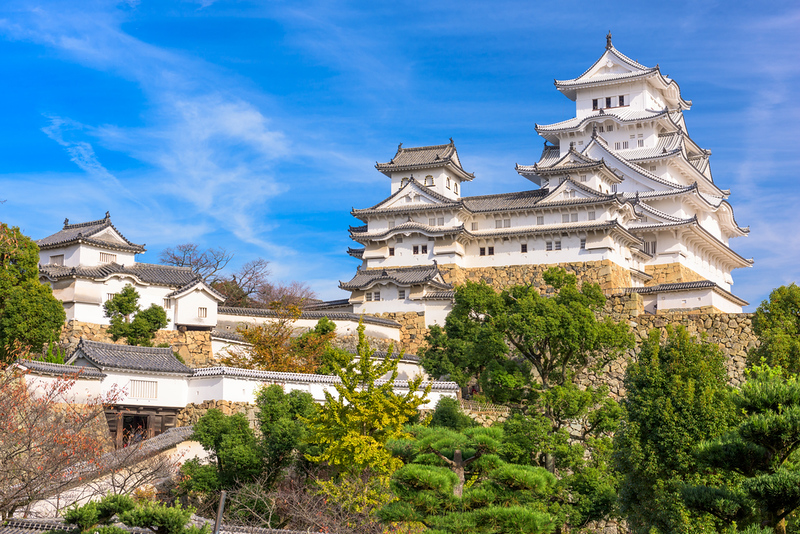 Himeji-jo Castle. Editorial credit: Sean Pavone / Shutterstock.com