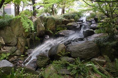The Island Garden, below the Umeda Sky Building