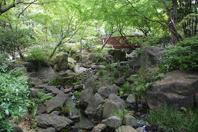 The Island Garden, below the Umeda Sky Building