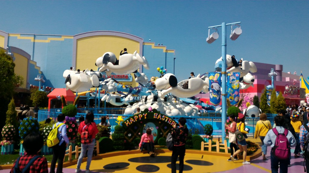 The Flying Snoopy