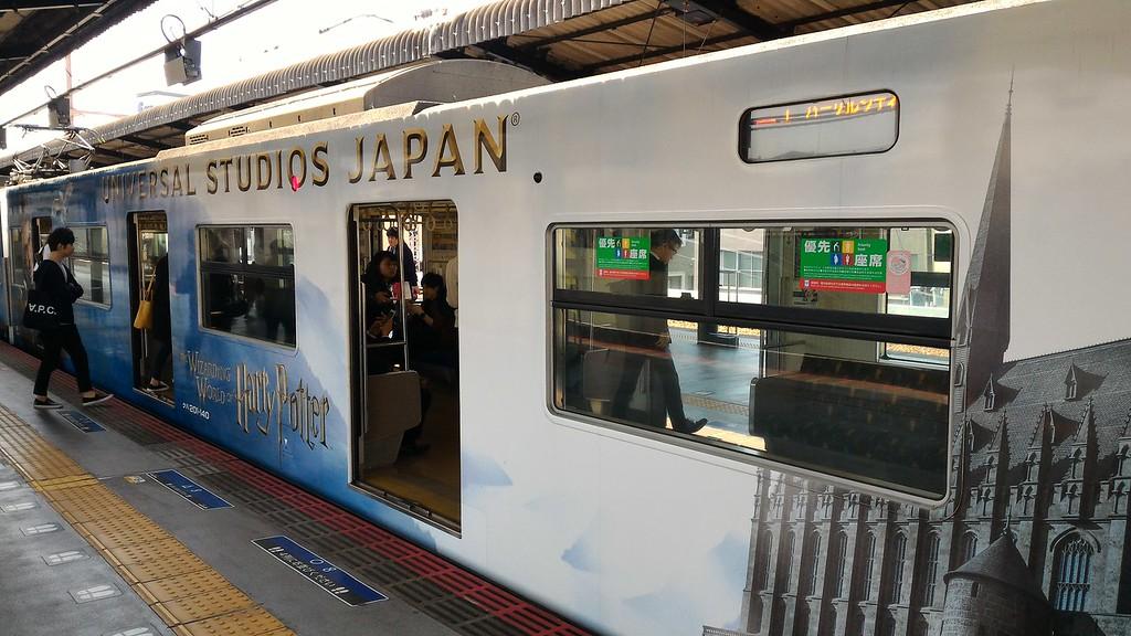 Train to USJ