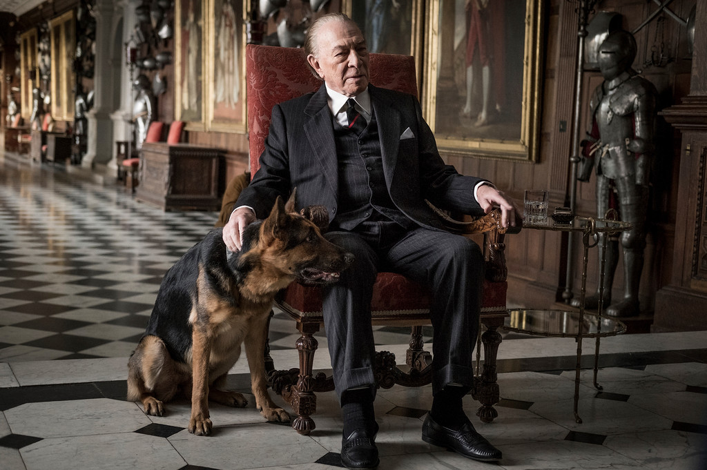 ". This image released by Sony Pictures shows Christopher Plummer in a scene from ""All the Money in the World.\"" Plummer was nominated for an Oscar for best supporting actor on Tuesday, Jan. 23, 2018. The 90th Oscars will air live on ABC on Sunday, March 4. (Giles Keyte/Sony Pictures via AP)"