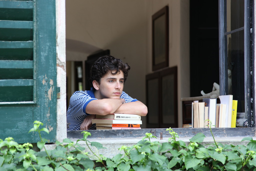 ". This image released by Sony Pictures Classics shows Timothee Chalamet in a scene from ""Call Me By Your Name.\"" Chalamet was nominated for an Oscar for best actor on Tuesday, Jan. 23, 2018. The 90th Oscars will air live on ABC on Sunday, March 4. (Sony Pictures Classics via AP)"